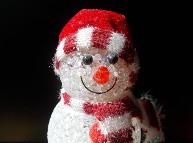 Jouet de bonhomme de neige image stock