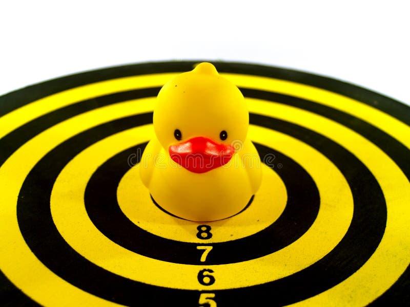 Jouet de canard image stock