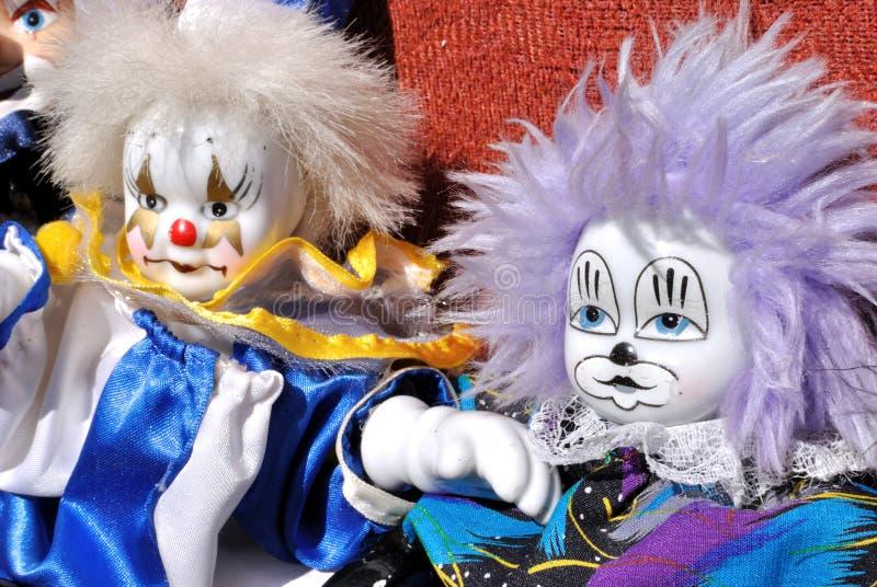 Jouet de clown image libre de droits