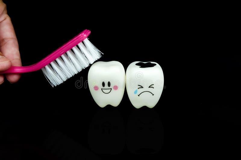 Jouet de dents de sourire et de cri photo stock