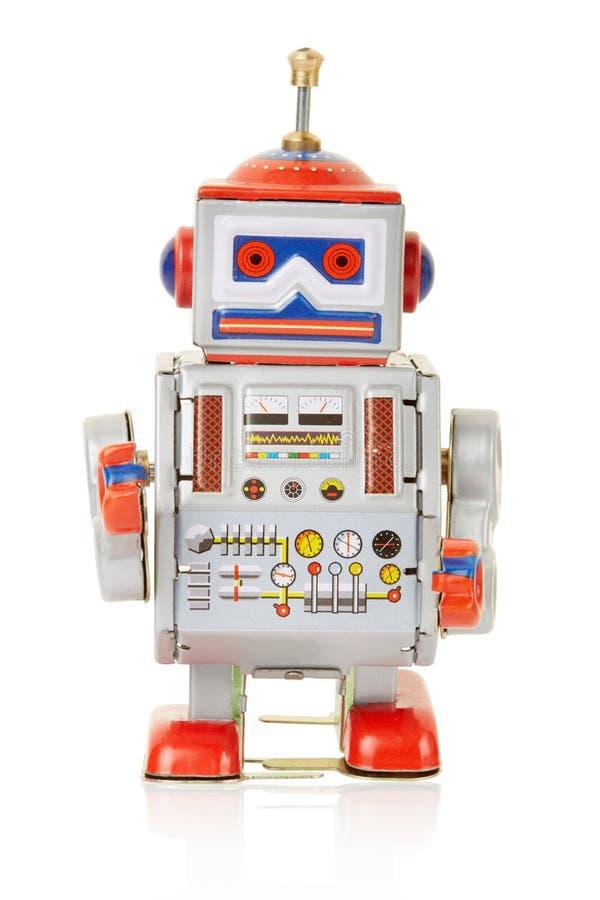 Jouet de vintage de robot image libre de droits