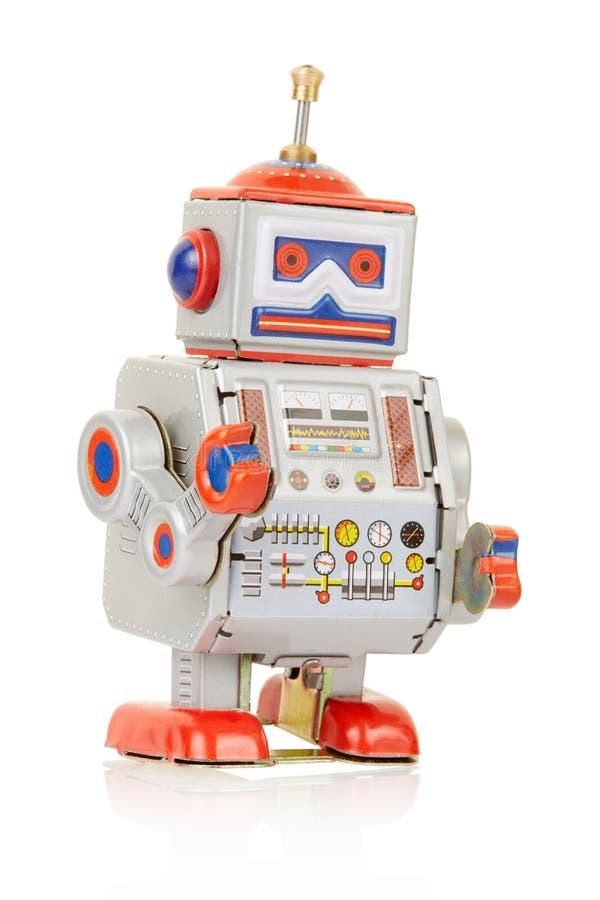 Jouet de vintage de robot images libres de droits
