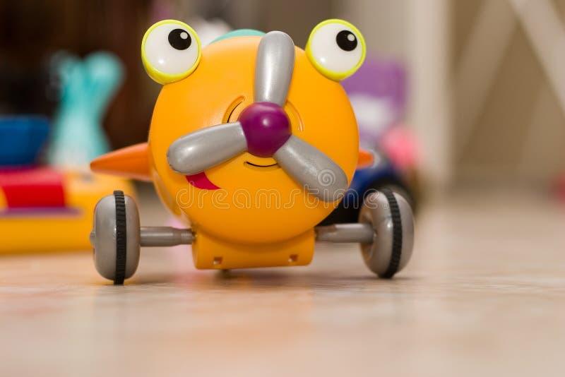 jouet des enfants s d'avion photo libre de droits