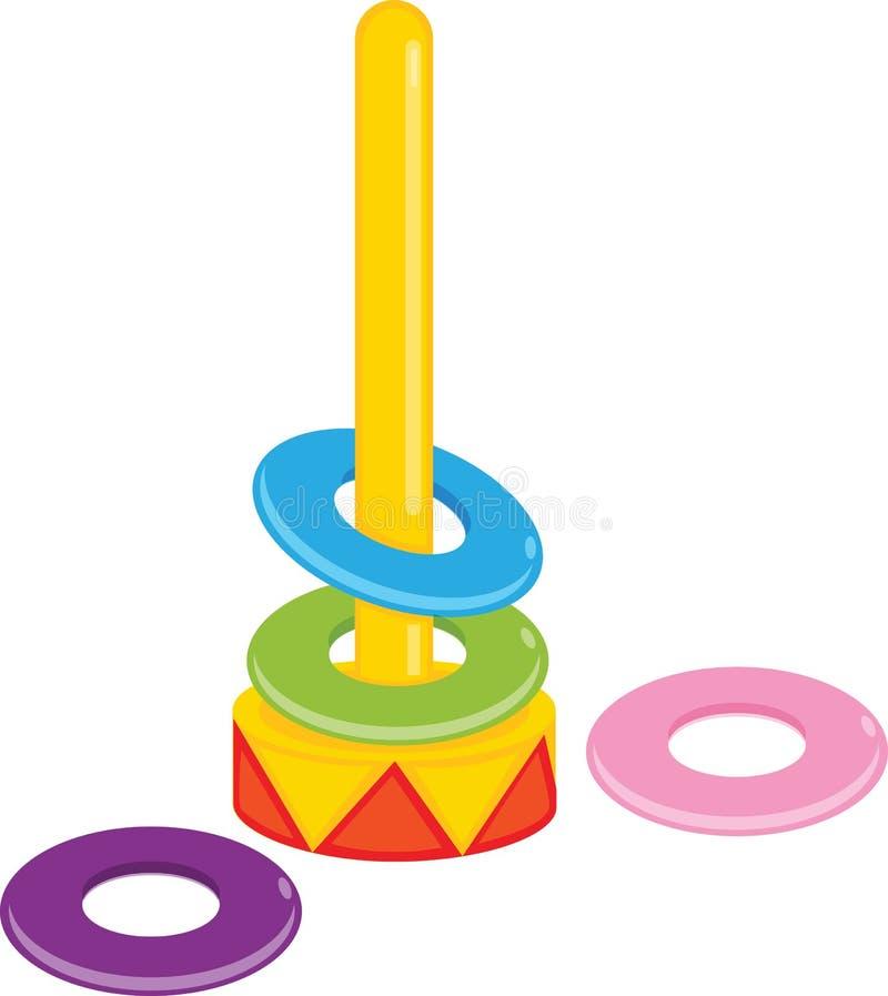 jouet en plastique illustration de vecteur