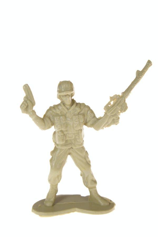 jouet en plastique de soldat photo libre de droits