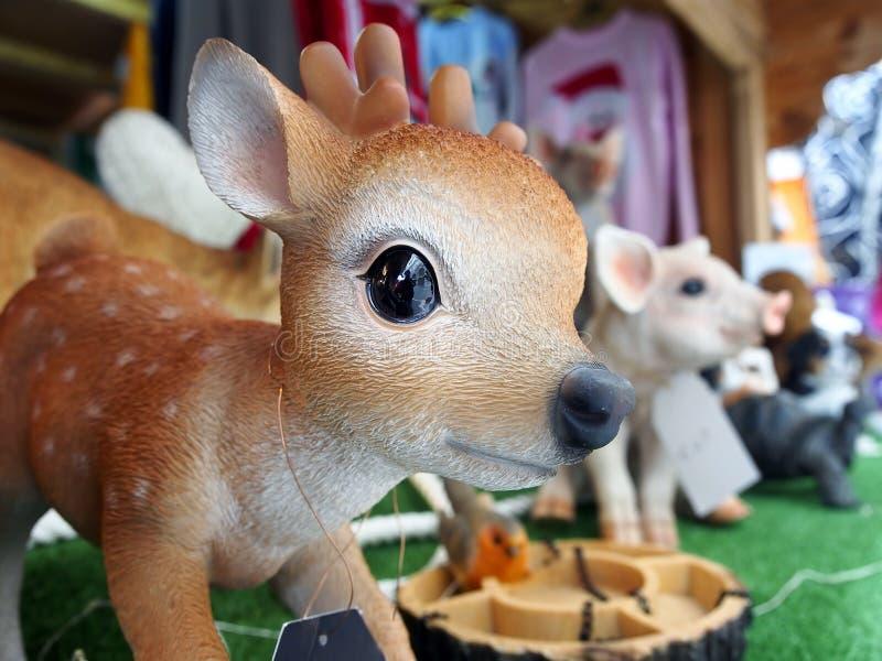 jouet Faon en bois photo stock