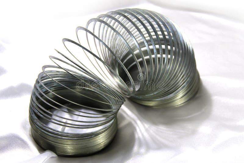 Jouet spiralé photos libres de droits