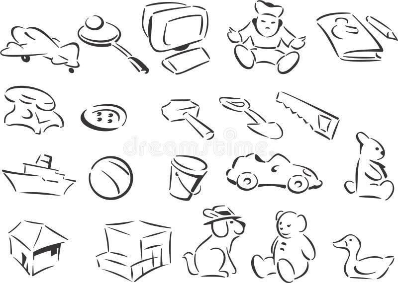 Jouets illustration stock