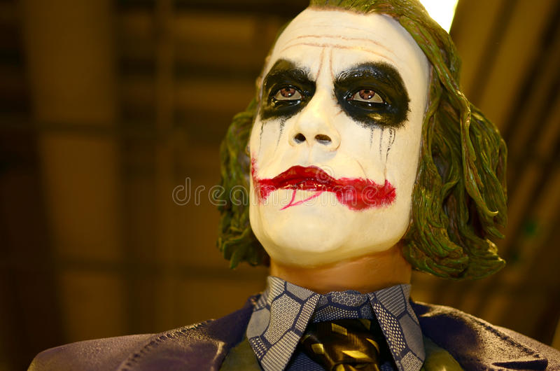 Figurins joue le joker de Heath Ledger images stock