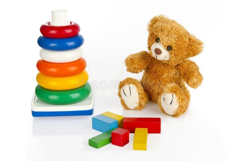 jouets colorés photo stock