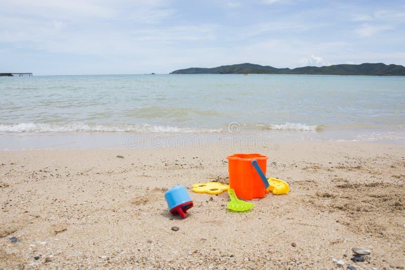 Jouets pour les bacs à sable des enfants photo libre de droits