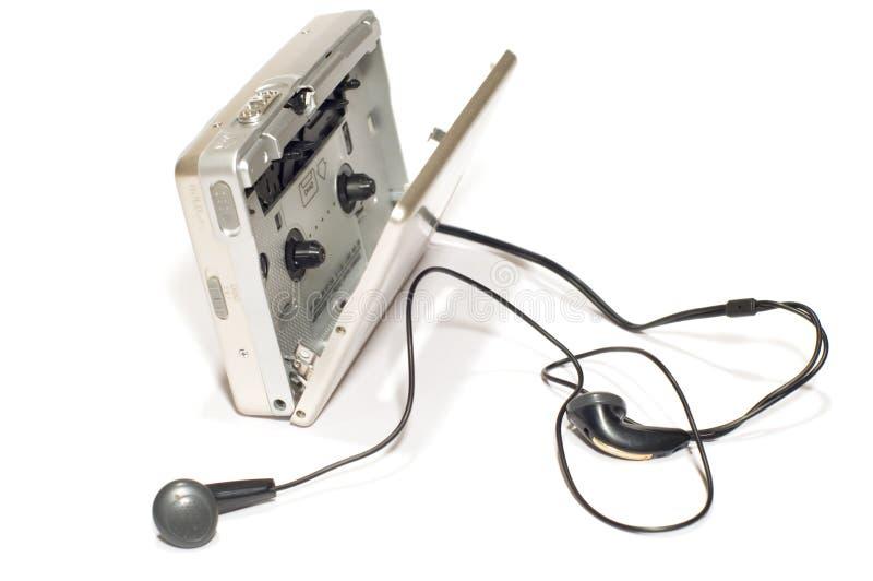 Joueur avec des écouteurs images libres de droits