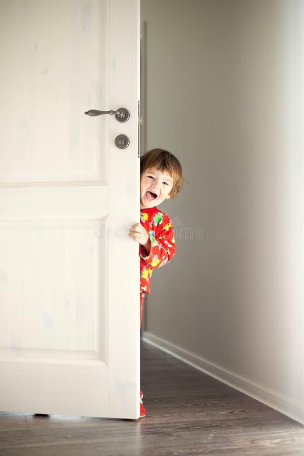 Joueur d'à cache-cache photo libre de droits