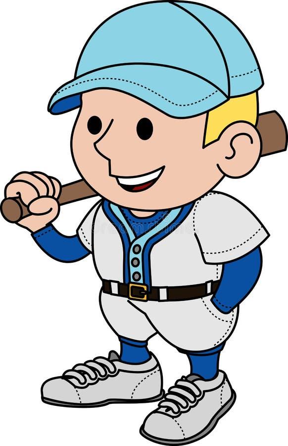 joueur d'illustration de base-ball illustration libre de droits