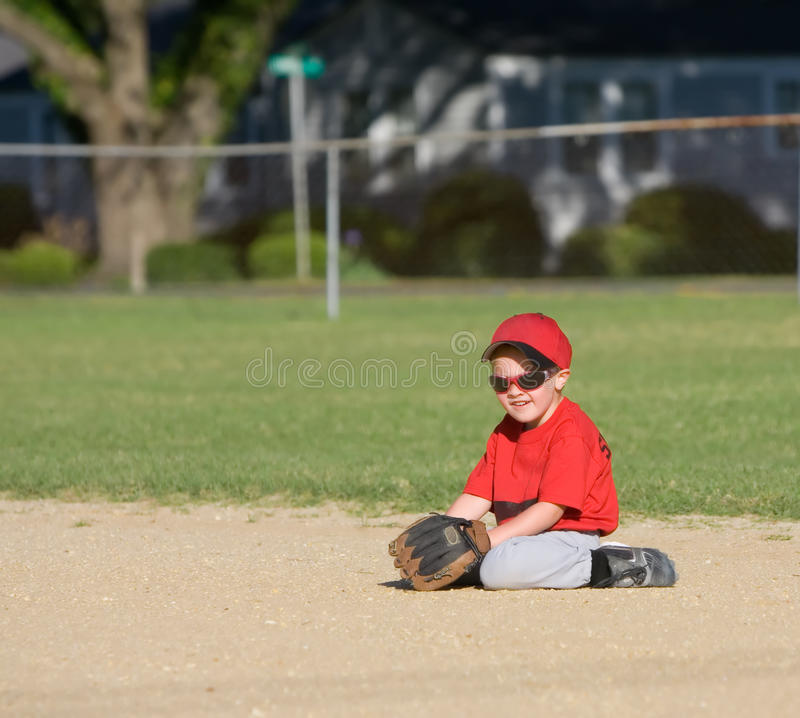Joueur de baseball photo stock