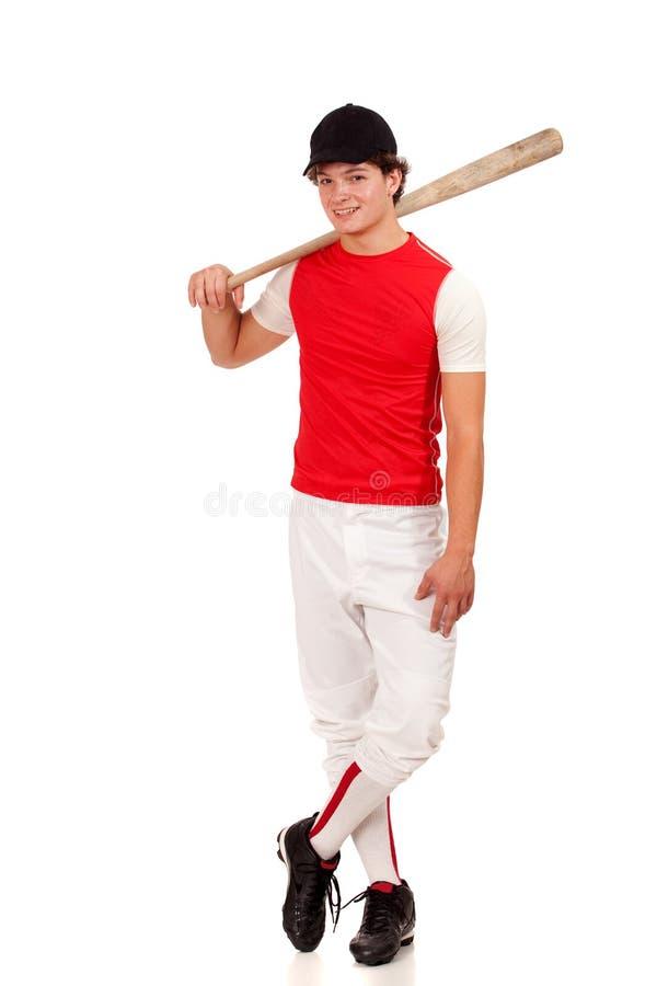 Joueur de baseball photo stock