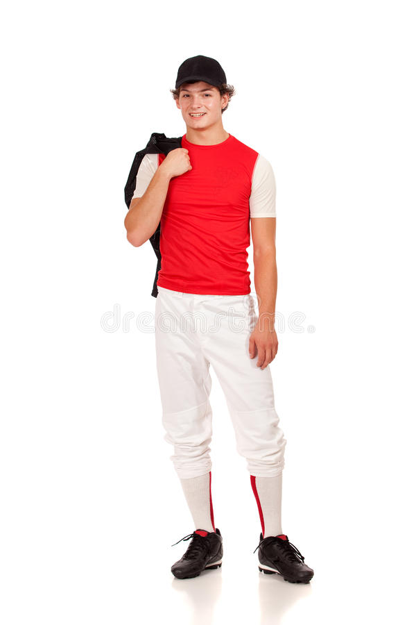 Joueur de baseball photo libre de droits