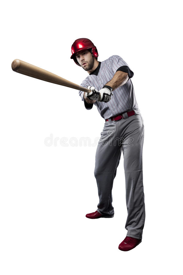 Joueur de baseball photos stock