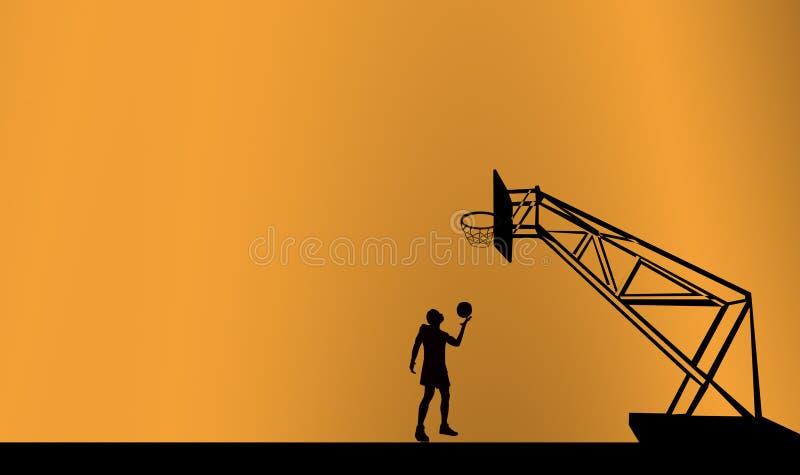 Joueur de basket images libres de droits