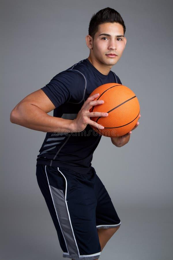 Joueur de basket images stock