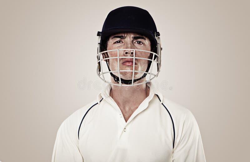 Joueur de cricket photos libres de droits