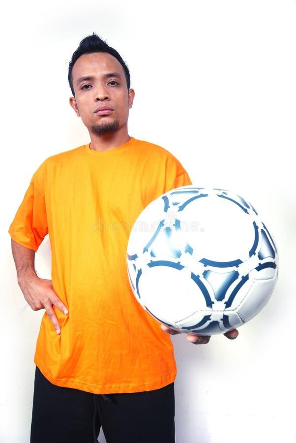 joueur de football photographie stock