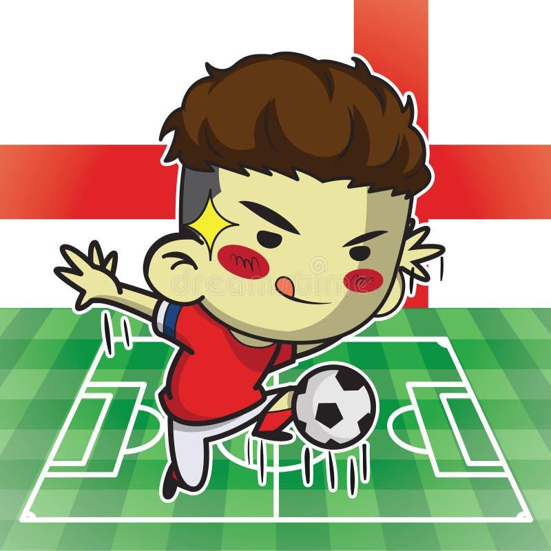 Joueur de football images stock