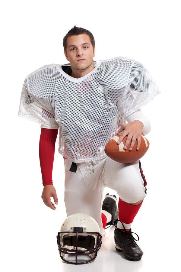 Joueur de football américain. images libres de droits