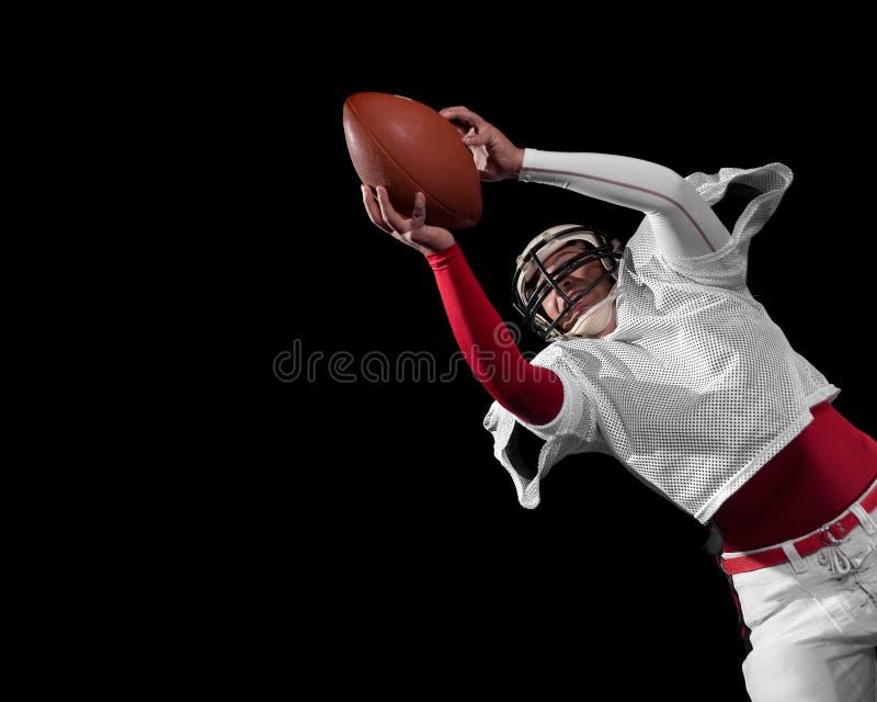 Joueur de football américain. photographie stock