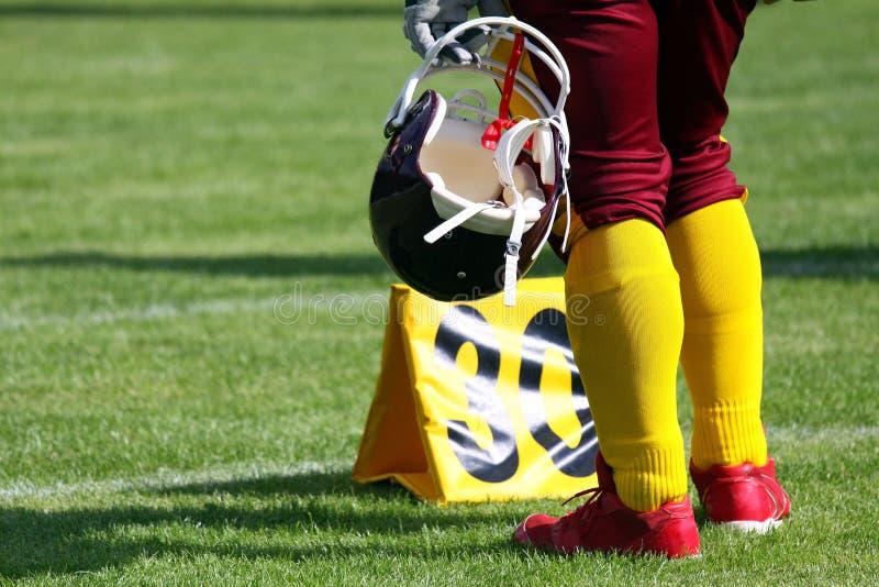Joueur de football américain images libres de droits
