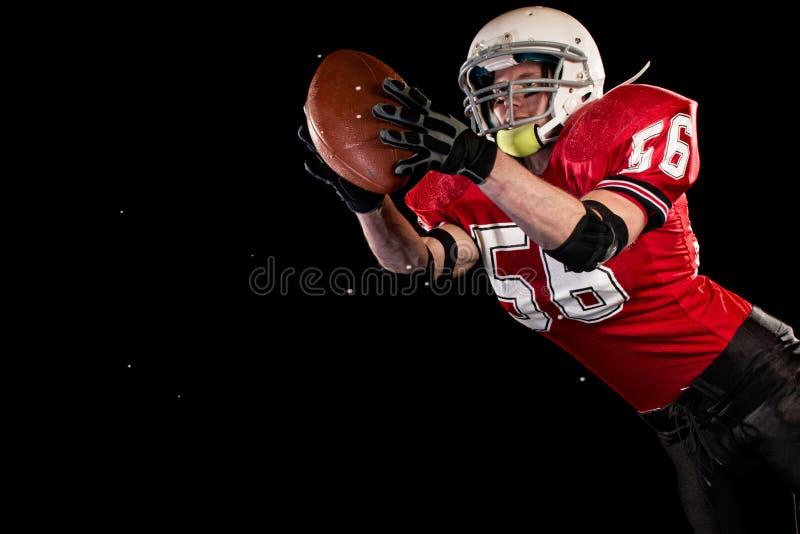 Joueur de football américain photographie stock