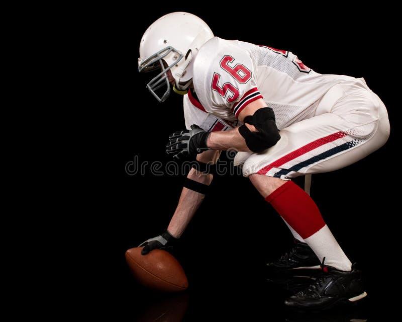 Joueur de football américain photos stock