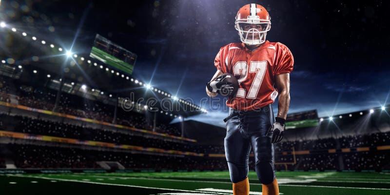Joueur de football d'Americam photos libres de droits