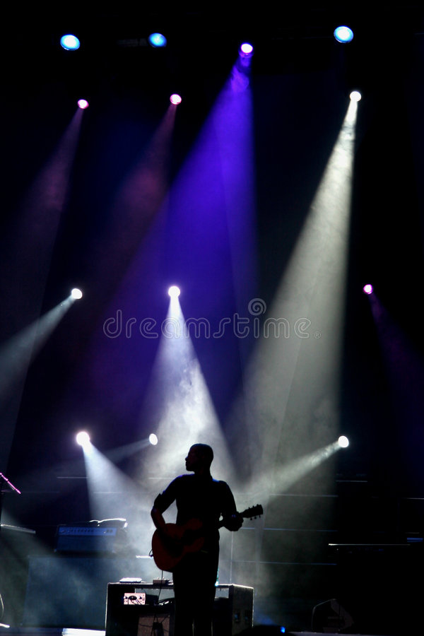 Joueur de guitare photos stock