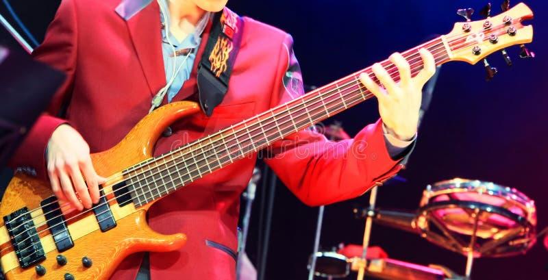 Download Joueur de guitare photo stock. Image du tambour, basse - 8651036