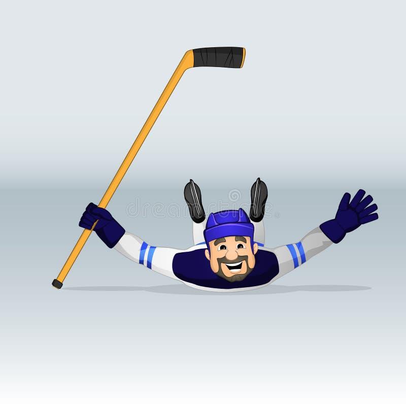 Joueur de hockey de hockey sur glace de la Finlande photo libre de droits