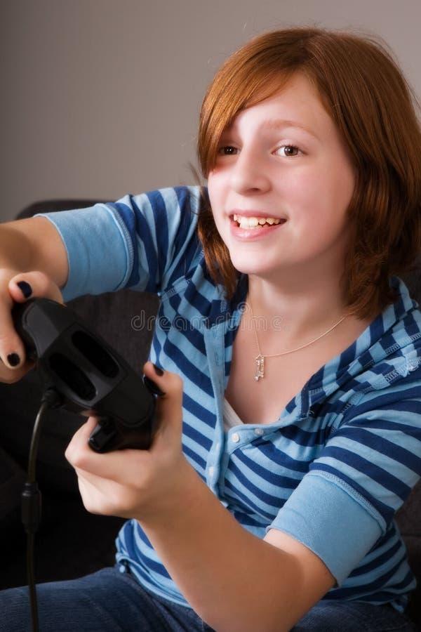 Joueur De Jeu Vidéo Image stock