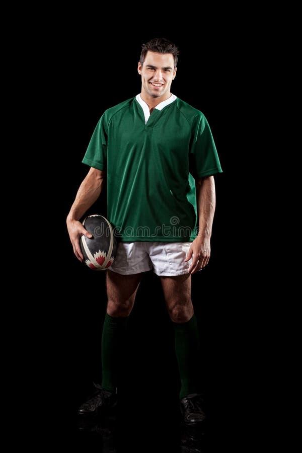 Joueur de rugby photo stock