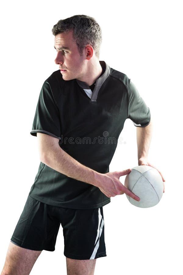 Download Joueur De Rugby Faisant Un Passage Latéral Image stock - Image du : 56486199