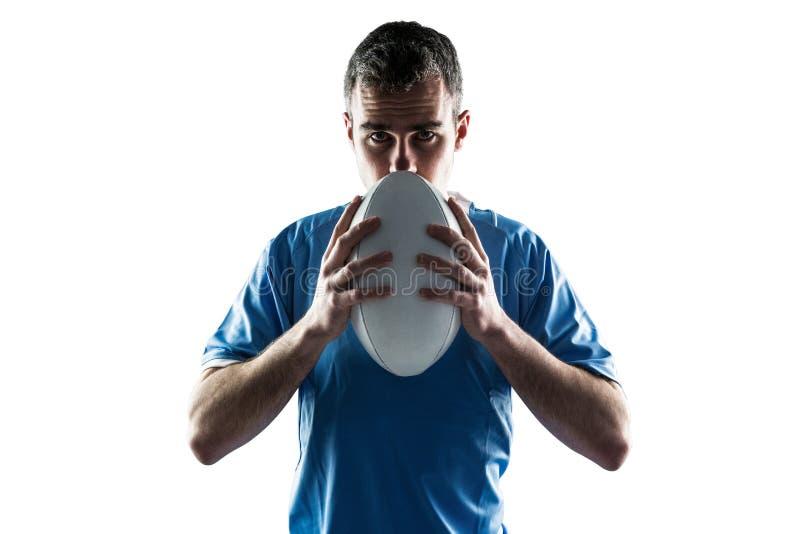 Download Joueur De Rugby Tenant Une Boule De Rugby Photo stock - Image du : 56484966