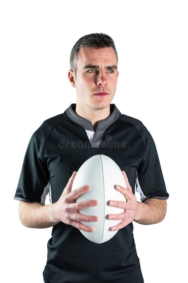 Download Joueur De Rugby Tenant Une Boule De Rugby Image stock - Image du professionnel, muscle: 56486029