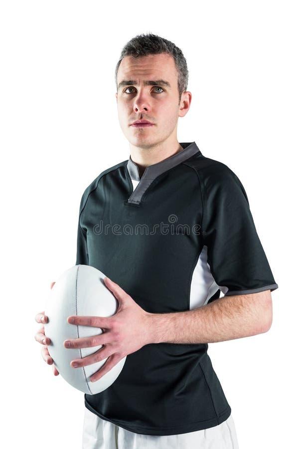 Download Joueur De Rugby Tenant Une Boule De Rugby Photo stock - Image du sourire, bras: 56486034