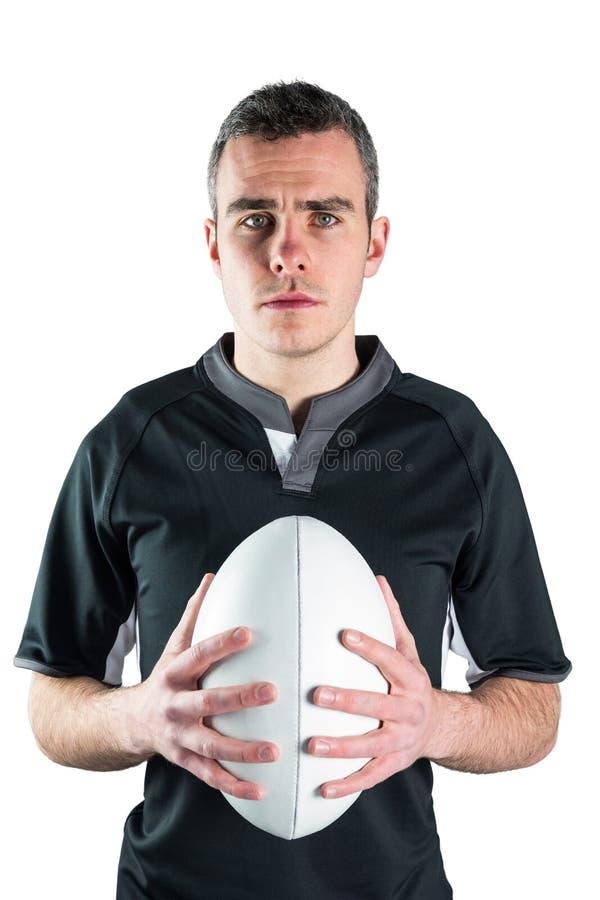 Download Joueur De Rugby Tenant Une Boule De Rugby Photo stock - Image du sportswear, survêtement: 56486188