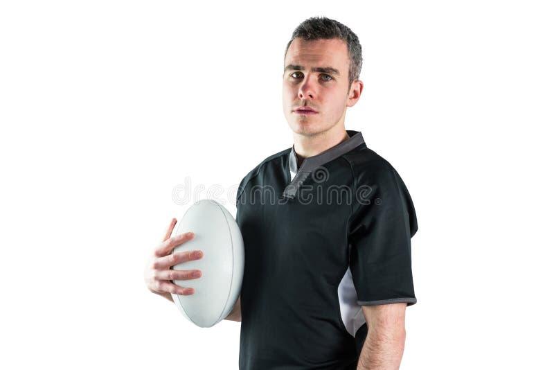 Download Joueur De Rugby Tenant Une Boule De Rugby Photo stock - Image du pouce, mégaphone: 56486240