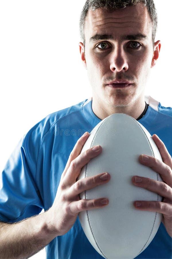 Download Joueur De Rugby Tenant Une Boule De Rugby Photo stock - Image du bouche, stéthoscope: 56486260