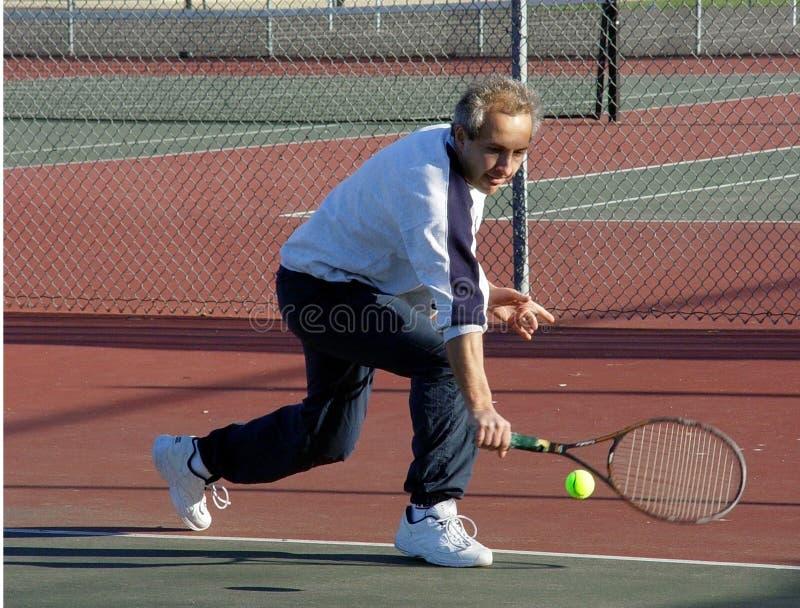 Joueur de tennis photos stock