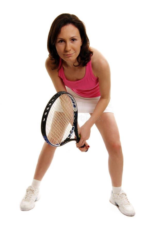 Joueur de tennis de femme photos libres de droits
