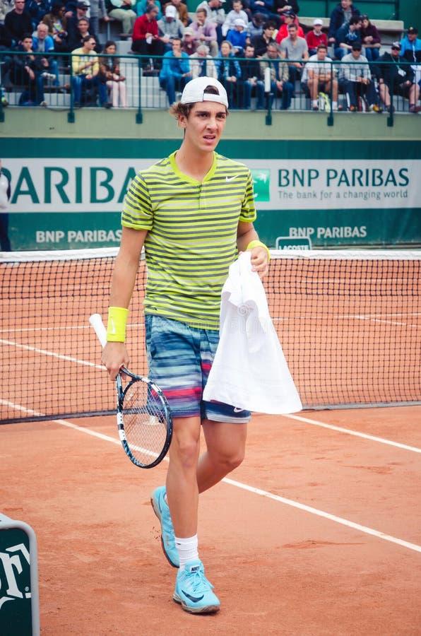Joueur de tennis de Kokkinakis photos stock
