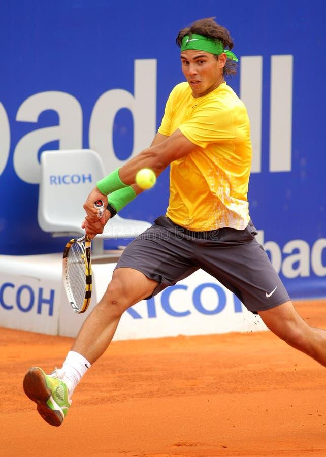 Joueur de tennis espagnol Rafa Nadal photo stock