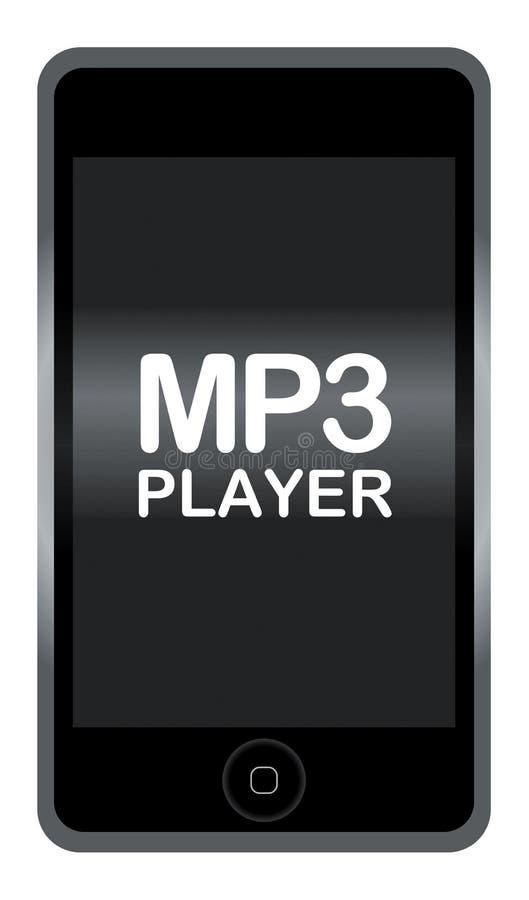 Joueur MP3 illustration stock
